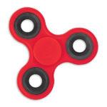 Fidget Spinner, color rojo