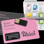 Tarjeta de visita USB para captar clientes