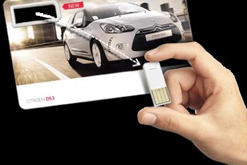 P@per, la tarjeta impresa USB
