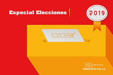 Artículos de promoción para campañas electorales